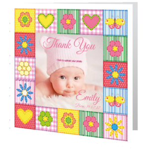 babycard-thank-you-quilt-girl